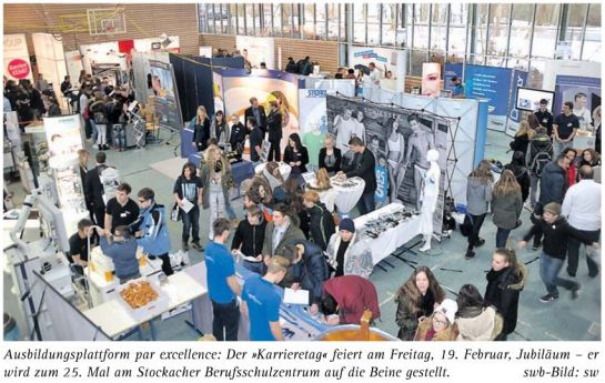 Karrieretag Messe BSZ Stockach