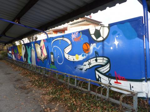 BSZ Stockach Graffiti
